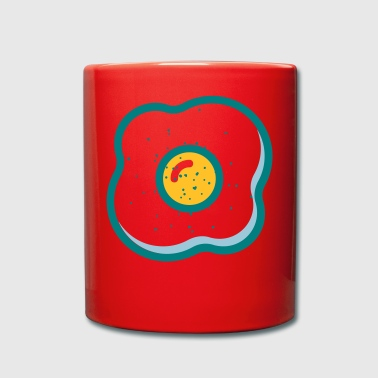 fried egg - Full Colour Mug