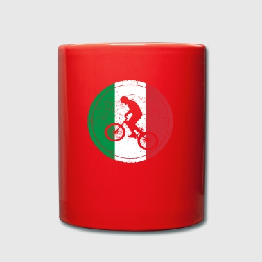 Bicycle bmx love biking Italy - Full Colour Mug