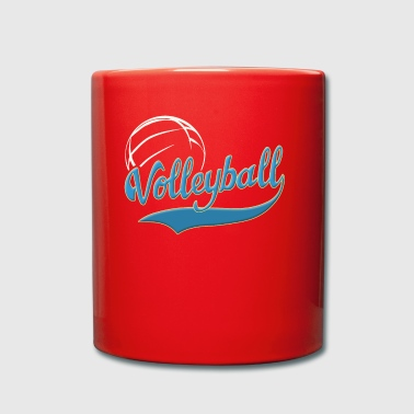 volley-ball - Tasse en couleur