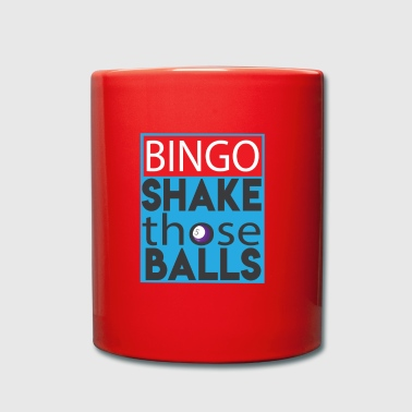 Shake Those Ball Funny Bingo Lover Shirt - Full Colour Mug