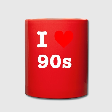 I love 90s - Full Colour Mug
