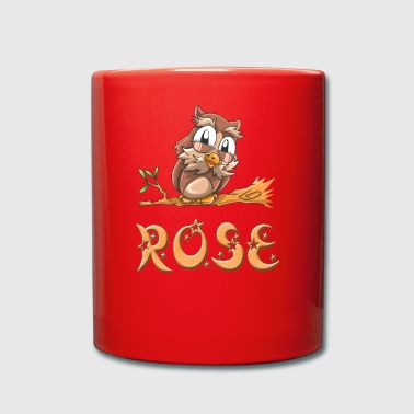 Owl rose - Full Colour Mug
