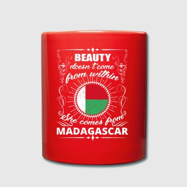 beauty comes from MADAGASCAR png - Full Colour Mug