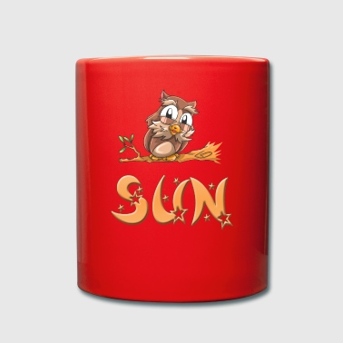 Owl sun - Full Colour Mug