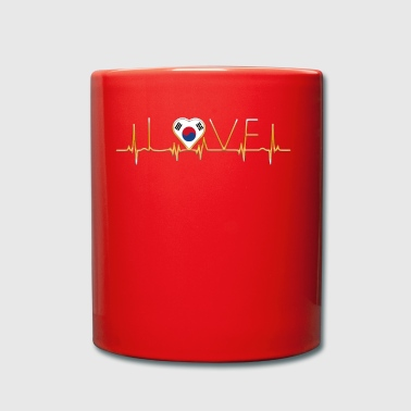 home roots home love heart from South Korea - Full Colour Mug