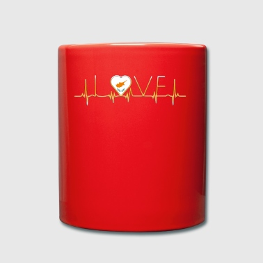 home roots home love heart from Cyprus - Full Colour Mug