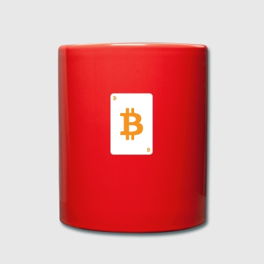 Bitcoin playing card - Full Colour Mug