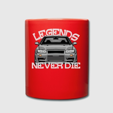 Skyline R34 legends never die - Full Colour Mug