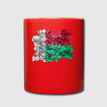 Madagascar vintage flag - Full Colour Mug