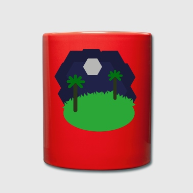 Hexagonal landscape - Full Colour Mug