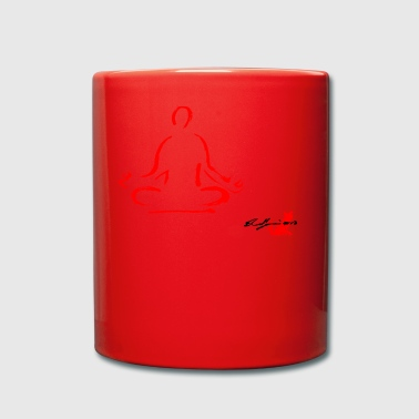 RED Yoga, Yoga, Meditation, Meditationstechnik - Tasse einfarbig