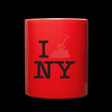 I dig New York - Tazza monocolore