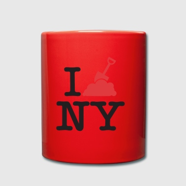 Ich grabe in New York - Tasse einfarbig