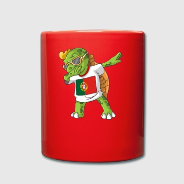 Portugal Dabbing turtle - Full Colour Mug