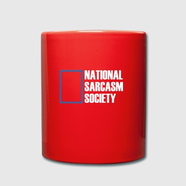 Society gift for Sarcastic People - Full Colour Mug