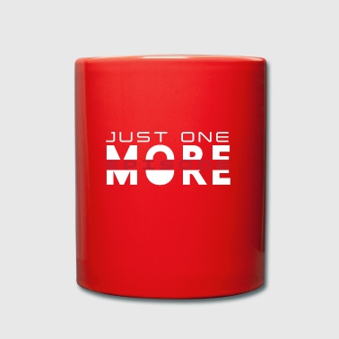 Just One More Episode. Serienjunkie. gift idea - Full Colour Mug