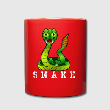 serpent chatoyante - Tasse en couleur