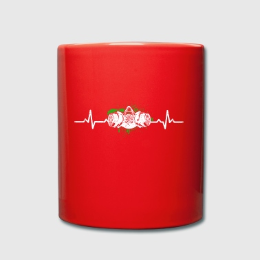 Funny Heartbeats Love Graffiti - Full Colour Mug