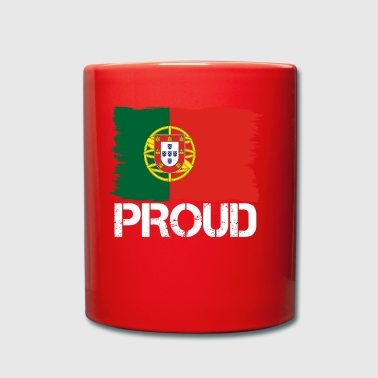 Pride flag flag home origin PORTUGAL portuge - Full Colour Mug