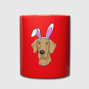 Duitse Great Dane Easter Bunny Gelukkig Gift Easter Has - Mok uni