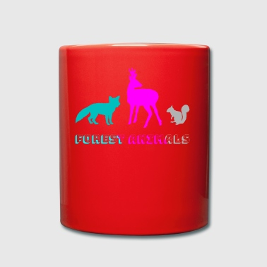 Forest animals - Full Colour Mug