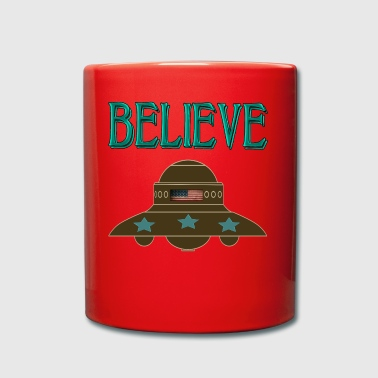 creer UFO - Taza de un color