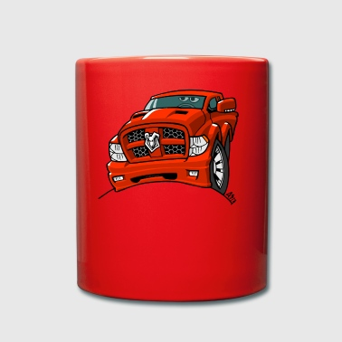 0569 dr red - Full Colour Mug