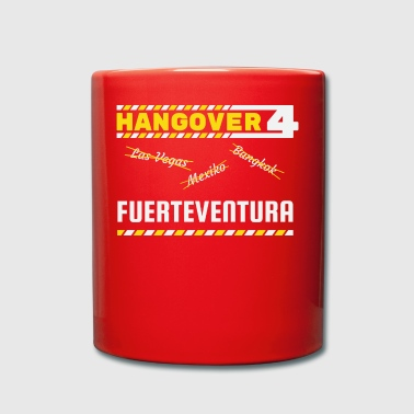 Hangover party Fuerteventura Spain travel - Full Colour Mug