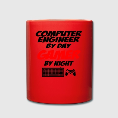 computer engineer gamer - Full Colour Mug