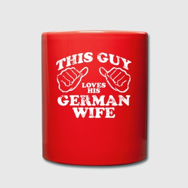 german wife - Full Colour Mug