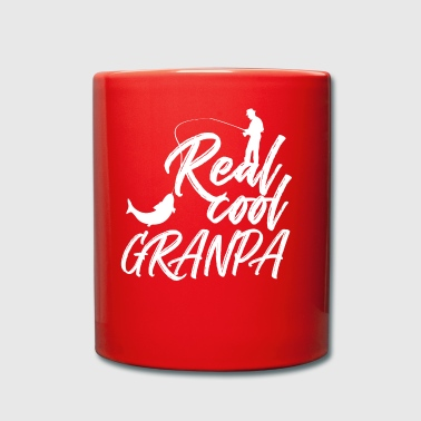Cool angler grandfather / grandfather - Full Colour Mug
