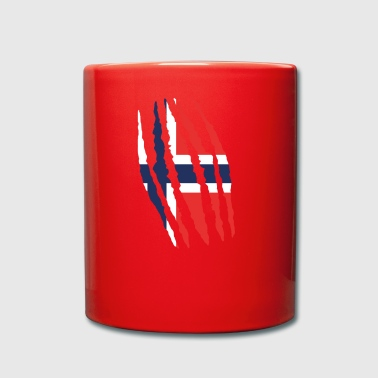 Claw claw cracks origin Norway png - Full Colour Mug