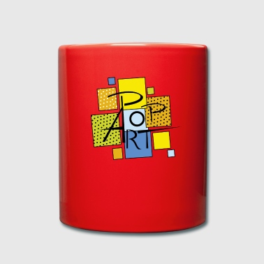 square pop art - Full Colour Mug