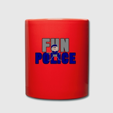 la police fun - Tasse en couleur