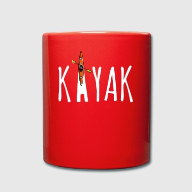 KAYAKING - Comic - Tasse en couleur