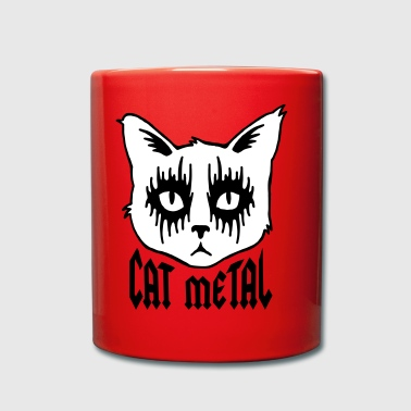 cat metal - Full Colour Mug