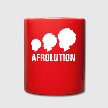 Afrolution African Pride t-shirt - Tazza monocolore