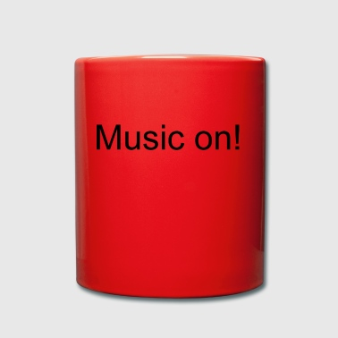 Music on! - Full Colour Mug