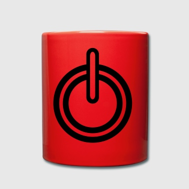 Power electricity icon - Full Colour Mug