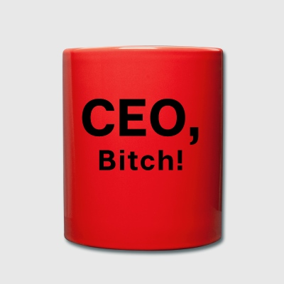 CEO Bitch - Chef Boss Startup - Tasse einfarbig