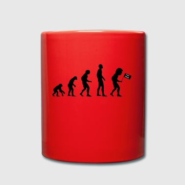 Evolution Donald Trump - Tasse en couleur