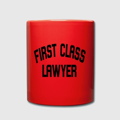 First Class Lawyer - Tasse einfarbig