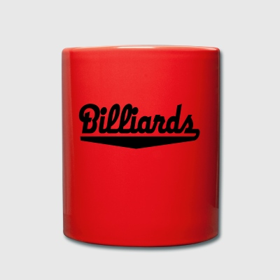 2541614 15743317 billiards - Tasse einfarbig
