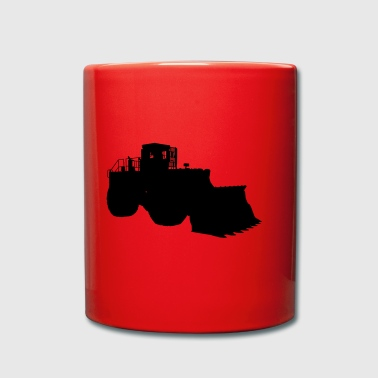 wheel loaders - Full Colour Mug