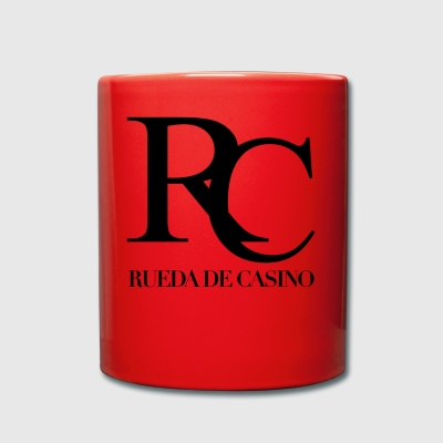Rueda de Casino black - Salsa Dance Shirt - Full Colour Mug
