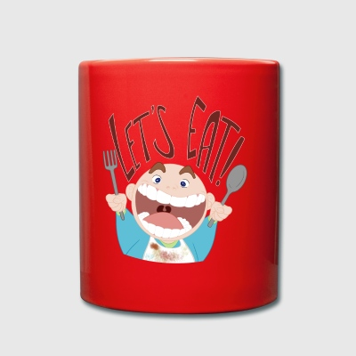 LetsEat! - Taza de un color