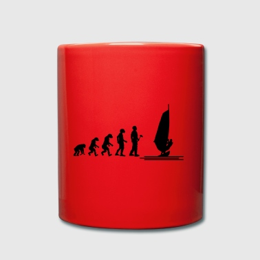 Evolution theory windsurfing - Full Colour Mug