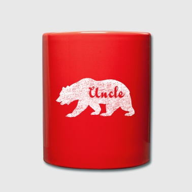 Uncle Bear. Gifts for uncles. Camping. Wildlife. - Full Colour Mug