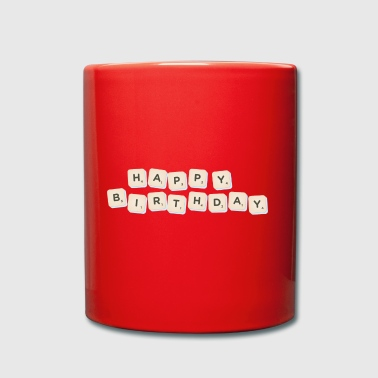Happy Birthday Scrabble - Mug uni
