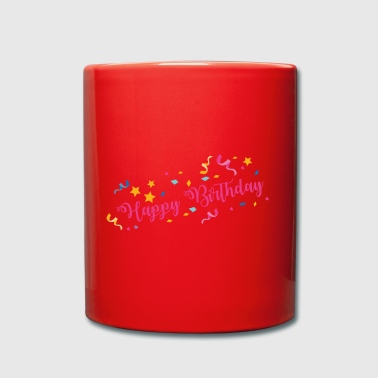 Happy Birthday - Full Colour Mug